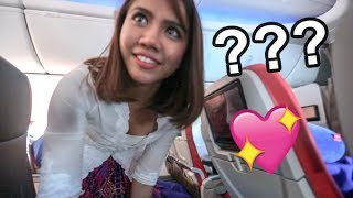 I ASKED AN AIR HOSTESS OUT ON A DATE