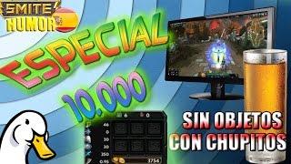 ESPECIAL 10 MIL EN SMITE / 2.0 Desafio con chupitos / gameplay español