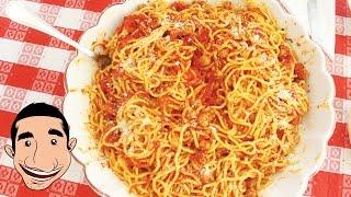 Italian Grandma Makes SPAGHETTI MEATBALLS   How to Make Spaghetti and Meatballs