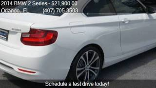 2014 BMW 2 Series 228i 2dr Coupe for sale in Orlando, FL 328