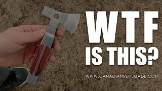 Hatchet Multi Tool In Action (Review)