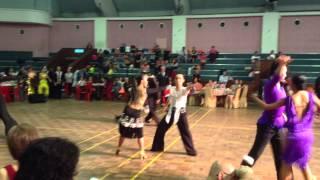 MDSB Open DanceSport Championship 2014 (CHA-CHA-CHA) Reid Asiain Baradas Michelle Lee Yee Lin