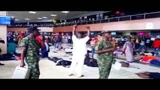 NIGERIA AIRFORCE KILLING BOKO-HARAM AT INTERNATIONAL LAGOS AIRPORT