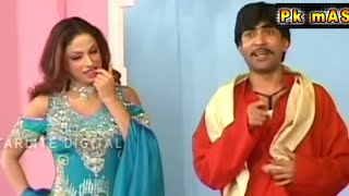 Sajan Abbas and Asif Iqbal New Pakistani Stage Drama Full Funny Clip