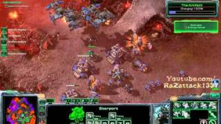 [Hard] Starcraft 2 : WOL Mission 26 All In vs Air ALL Achievements Pt 1/3