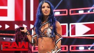 Sasha Banks returns to WWE: Raw, Aug. 12, 2019