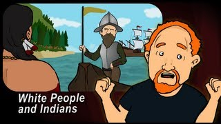 Louis CK - Animated: White People and Indians