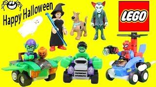 BEST of Halloween Marvel and DC Superheroes Adventures Part 1!