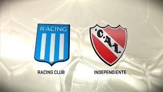 Fútbol en vivo. Racing vs Independiente. Fecha 11. Torneo de Primera División 2016/2017. FPT