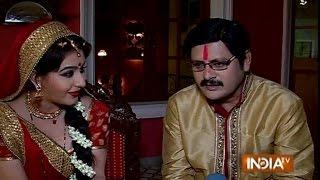 Bhabhi Ji Ghar Par Hai: Angoori Bhabhi Performs 'Karwa Chauth' for Tiwari ji - India TV