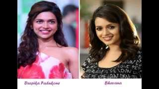 Bollywood - Mollywood(Malayalam Film Industry) Actress Comparison