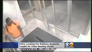 Shocking Video: Woman Punched, Kicked During Brooklyn Robbery