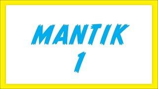MANTIK 1- ŞENOL HOCA
