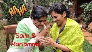 Malayalee Aunty   Meet my best friend Mariamma Kutty   Sailaja Talkies