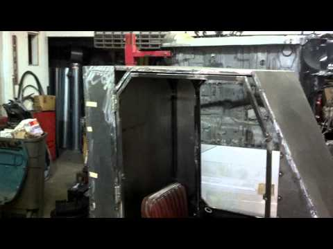 Homemade Tractor Cab 1970 s Dynamark Tractor