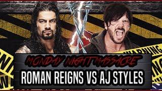 WWE Extreme Rules  Roman Reigns vs AJ Style Heavyweight Championship Match