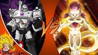 MEGATRON vs FRIEZA! (Transformers vs Dragon Ball Super) Cartoon Fight Club Episode 143 REACTION!!!