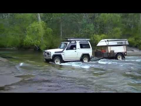 Daihatsu Rocky does the Tele Track Cape York .2013