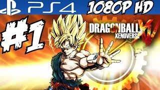 Dragon Ball XenoVerse Walkthrough Part 1 Gameplay PS4 Before Xenoverse 2 Review 1080p HD