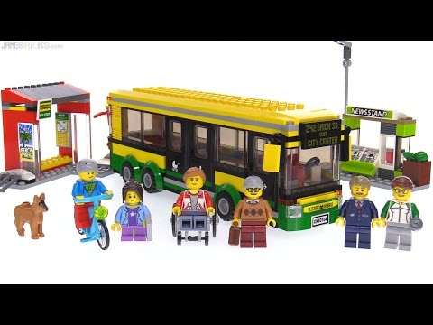 Xxx Mp4 LEGO City 2017 Bus Station Review 🚌 60154 3gp Sex