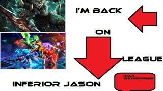 League Of Legends: New Account Inferior Jason. Playing Intermidate Bots LVL 7 TOO EZ