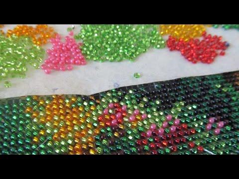Вышивка бисером в ютубе видео