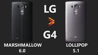 LG G4 Marshmallow 6.0 vs Lollipop 5.1 - Changes 2016!