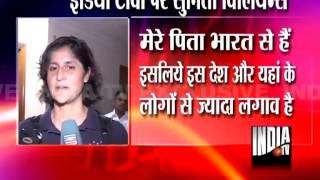 American Astronaut Sunita Williams exclusively on India TV !