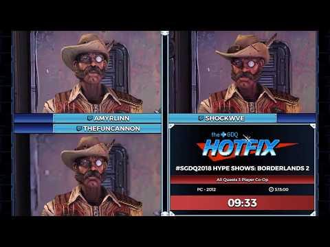 Xxx Mp4 GDQ HOTFIX Presents SGDQ2018 Hype Shows Borderlands 2 Co Op 3gp Sex