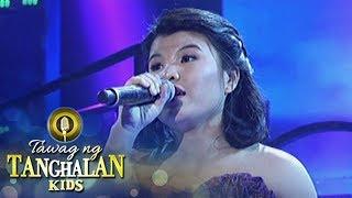 Tawag ng Tanghalan Kids: Pauline sings