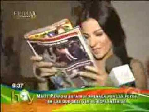 Maite Perroni apena por foto sacadas de su ropa interior en una revista