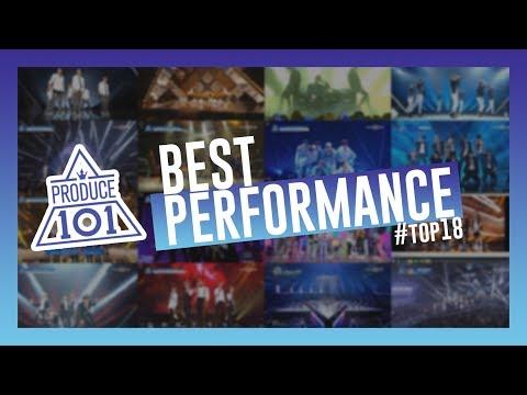 PRODUCE 101 BEST PERFORMANCE TOP18
