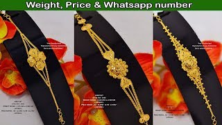 Latest Bracelets, Wristlets, Bangles & Chure designs with weight  price & whatsapp number | TF