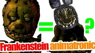 Frankenstein animatronic? detail analysis on new animatronic in five nights at freddy's 3
