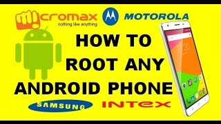 Easiest step by step way to root any company android phone (in hindi)
