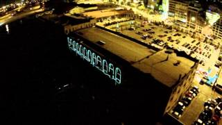 video projection mapping ΔΗΜΗΤΡΙΑ 2015