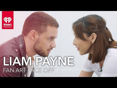 Liam Payne Draws Fan Art Of One Of His Fans! | Fan Art Face Off