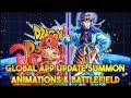 Download Video Download MASSIVE GLOBAL UPDATE COMING! NEW SUMMON ANIMATIONS, BATTLEFIELD + MORE! (DBZ: Dokkan Battle) 3GP MP4 FLV