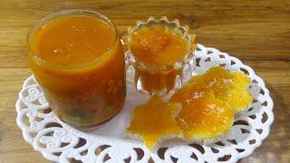 Orange Jam Recipe/অরেঞ্জ জেম রেসিপি/Orange Jelly Recipe/Orange Jello Recipe
