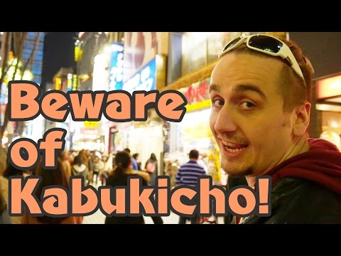 Most Shady Place in Japan Kabukicho Tokyo s Red Light District