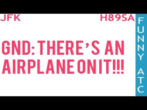 watch FUNNY JFK ATC: IMPATIENT CONTROLLER!