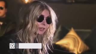 The Pretty Reckless interview backstage IHeart Radio festival