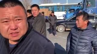 北京市民堵车抗议