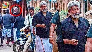 Thala Ajith Mobbed by Fans : Viswasam Shooting Spot   Hot Tamil Cinema News