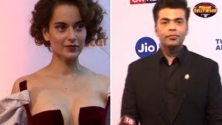 Kangana Ranaut & Karan Johar Avoid Each Other At An Event | Bollywood News