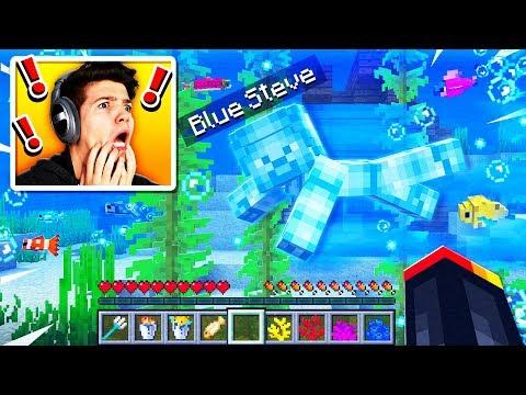 Xxx Mp4 I Found Blue Steve Underwater In Minecraft MCPE 3gp Sex