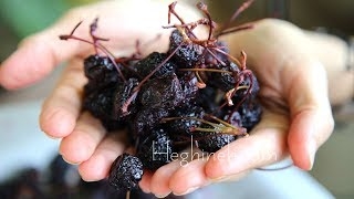How to Make Dried Cherries - Heghineh Cooking Show