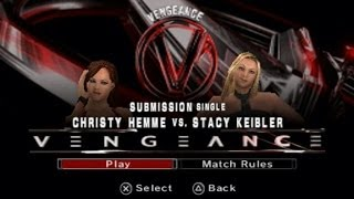 Smackdown Vs Raw 2006: Stacy Keibler Vs Christy Hemme - Special Request by: Samseth O'biggs