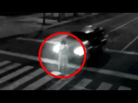 5 Ghost Caught on CCTV Camera Footage!