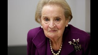 Trump playing into Putin's plan 'either on purpose or by accident,' Albright says